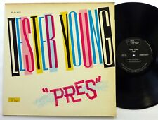 LESTER YOUNG Pres LP Cp 422  jazz sax 1st press #1227