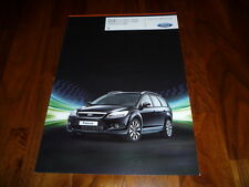 Ford Focus BLACK MAGIC / SILVER MAGIC Prospekt 03/2009