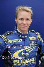 Petter Solberg Subaru WRC Portrait Photograph 1