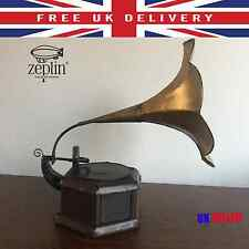 44CM The Best New House Gift METAL HANDMADE GRAMAPHONE Vintage Mothers Day XMAS