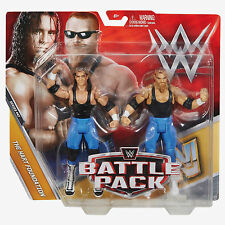 Mattel WWE Battle Packs Series 47 The Hart Foundation Bret & Jim Action Figures