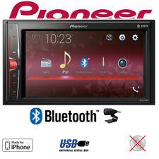 Pioneer Autoradio 2-DIN Bluetooth MP3 USB Radio Touch TFT Einbauset Veicoli 12V