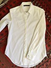 Zara White Cotton Shirt Brand New sz S