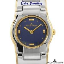 US$510 Luxury JACQUES LEMANS Ladies Watch Model 1-1156C Deluxe Box also in Gold