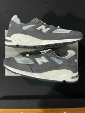 Size 10.0 Kith x New Balance 990 V2 CL M990KT2 Blue Grey Made In USA - IN HAND