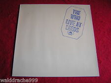 The Who - Live at Leeds, Polydor  2480004 Vinyl LP 1981