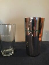 Tanqueray  Glass & Stainless Cocktail Shaker Martini 16 oz. Glass