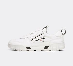 Mens Tommy Hilfiger Lifestyle Ball Script White Trainers (PF1) RRP £84.99