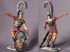 Tin toy soldiers ELITE painted 90mm  Greek Nobleman, Argiraspide, with Spear. 90