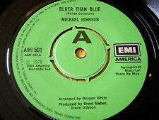"Michael Johnson-más azules que Vinilo Azul 7"""