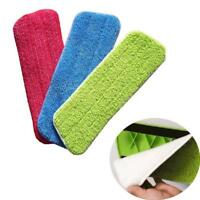 Microfibre Mop Heads Refill Replacement Cloth Dust Cleaning Pad Washable Tool CF