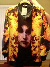 Ultra Rare Givenchy Madonna flames runway piece sweater