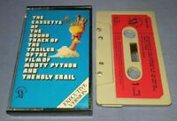 MONTY PYTHON & THE HOLY GRAIL SOUNDTRACK PAPER LABELS cassette tape album T8691