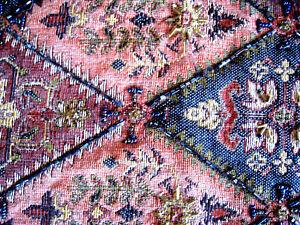 ELEGANT BEADED BROCADE Table Runner Tapestry 14 X 69 Inch Formal Beautiful EUC