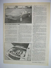BILL PATTERSON HOLDEN VB COMMODORE TURBO MAGAZINE SPECIAL FEATURE ARTICLE