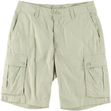 189a0d3f5e Nautica Cargo Shorts Modern Fit Stone Adjustable Cotton Size 30 NEW Mens
