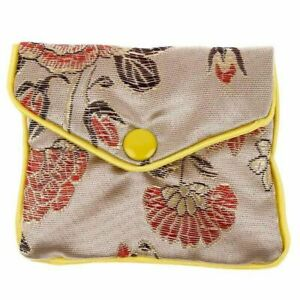 New Gold Jewelry Gift Pouch Chinese Style Small Silk Coin Purse Gift