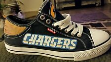 Los Angeles Chargers Levis Canvas Men's Sneakers