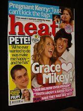 HEAT MAGAZINE:AUGUST 2006:KERRY KATONA/X FACTOR/BIG BROTHER/DAVID BECKHAM:RARE!
