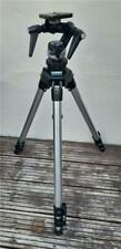 Manfrotto 055C Aluminium Camera Tripod with 115 Tilt Head Fitted