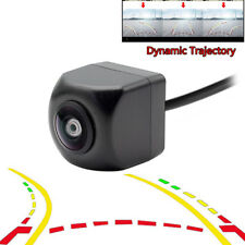 Fisheye Lens Dynamic Trajectory Parking Line Car Rear View Reverse Backup Camera