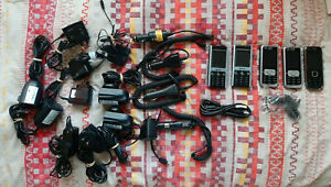 5x Telstra Nokia ZTE Mobile Phones + Car AC Chargers - 3120c-1 F152 6120c-1