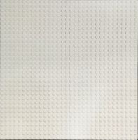 BASE PLATE - 32X32 STUDS IVORY WHITE BASEPLATE COMPATIBLE WITH LEGOS BRICK