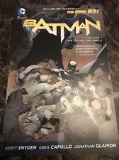 Batman: Volume 1: The Court of Owls by Scott Snyder (Paperback, 2013)