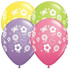 Party Supplies Mothers Birthday Flowers Spring Ass Latex Balloons Pack of 10