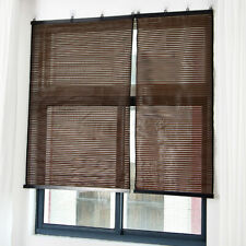 Bamboo Window Blinds Home Bedroom Privacy Shade Curtain Roller Blind  #