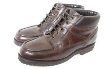 Allen Edmonds cerosa leather boot suola vibram Gumlite US7 EEE Wide Fit UK7