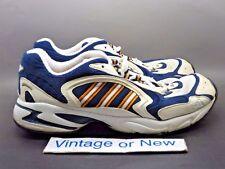 VTG OG Adidas Torsion The Jet Navy White Gold Running Shoes 1998 sz 9.5