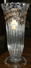 """Anna Hutte Bleikristall 24% Lead Crystal Vase Made In Germany 7 3/4""""Tall"""
