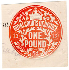 (I.B) QV Revenue : Royal Courts of Justice £1