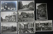 More details for 8x 1930 exhibition exposition antwerp - anvers postcard carte postale belgium