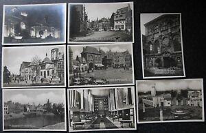 8x 1930 Exhibition Exposition Antwerp - Anvers Postcard Carte Postale Belgium