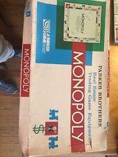 Vintage 1973 Parker Brothers Bros Monopoly Game