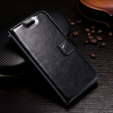 Fits iPhone 5s 5se 6 6s 7 8 Plus X10 Leather Pouch Flip Cover Wallet Phone Case
