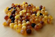 Genuine Baltic Amber 6-8mm LOOSE BEADS Jewellery Beads Fine Jewellery FREE POST