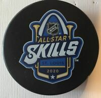 "2020 NHL ALL STAR GAME ""SKILLS"" SOUVENIR PUCK ST. LOUIS BLUES STANLEY CUP FINAL"