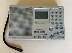 SONY ICF-SW7600GR Tuner 12 bandes Radio portable avec haut-parleur