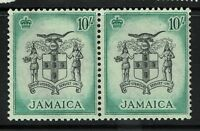Jamaica SG# 173, pair, one Hinged, one Never Hinged - S1331