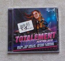 """CD AUDIO MUSIQUE / VARIOUS """"TOTALEMENT TUBES RENTRÉE 2010"""" CD COMPILATION NEUF"""