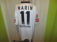 "Borussia Mönchengladbach Lotto Trikot 2008/09 ""KYOCERA"" + Nr.11 Marin Gr.XXXL"