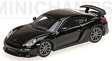 Porsche Cayman GT4 Coupé 2016 negro negro 1:87 MINICHAMPS