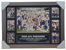 2006 Premiers West Coast Eagles Official AFL Premiergraph Print Silver Frame
