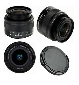 Lens Cap for Canon EF-M 15-45mm f/3.5-6.3 IS STM - Protect Your Optics