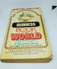 Vintage 1970 Guinness Book of World Records Paperback Bantam Books 9th edition