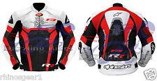 Chaqueta de moto racing de cuero diseñado para MV AGUSTA F4 Moto Todas Las Tallas
