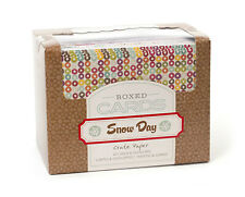 Crate Paper SNOW DAY BOXED CARDS scrapbooking 40 CARDS 40 ENVELOPES
